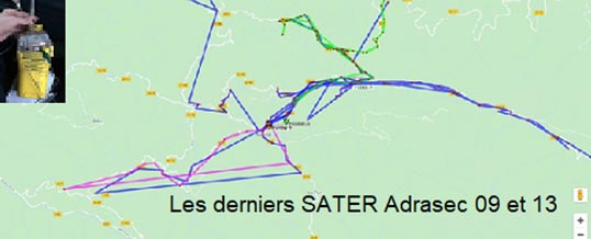 Adrasec 09 et 13 – Exercices SATER