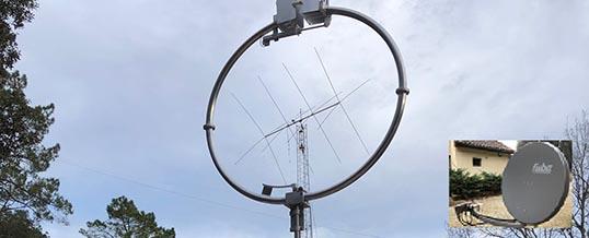Déploiement du réseau satellitaire