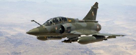 Mirage 2000 D – Le remerciement